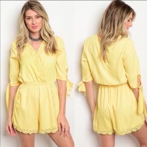 Dresses & Skirts - 💛Lovely Yellow Romper Jumpsuit💛